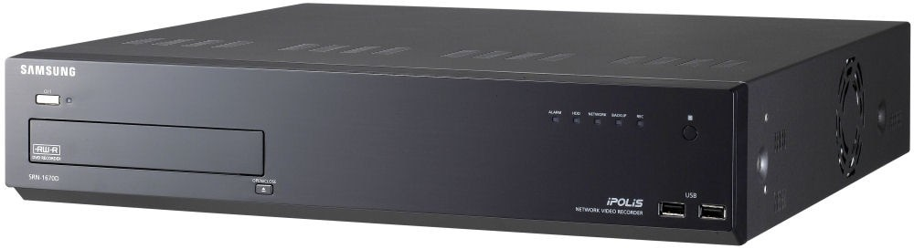 Samsung / Hanwha SRN1670D 16CH Network Video Recorder 1TB