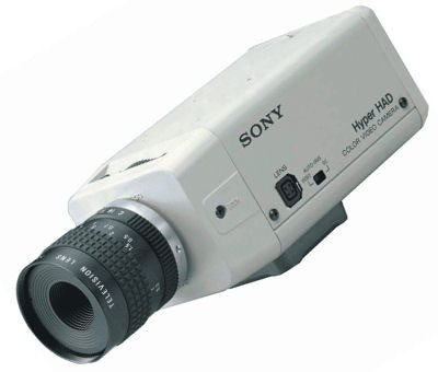 "Sony SSCC104P 1/3"" Colour Camera 24V"