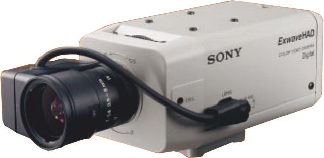 "Sony SSCDC334 1/3"" Colour Camera 24V"