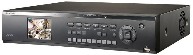 Samsung / Hanwha Techwin SVR470 4 Channel DVR with LCD Monitor