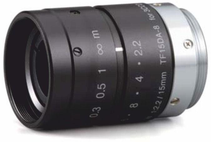 """Fujinon TF15DA-8 1/3"""" Fixed Focal lens 3 CCD Lens"""