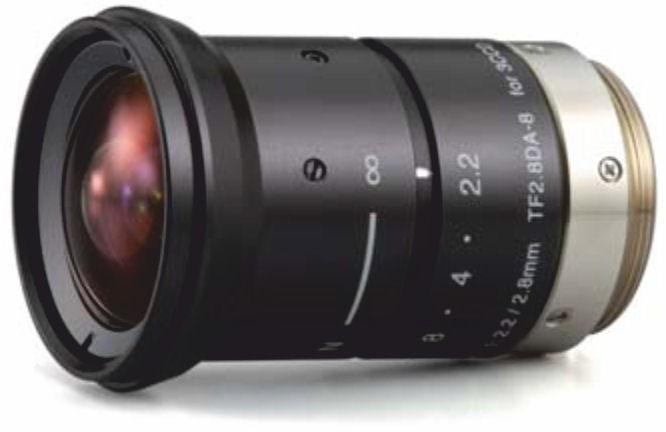 """Fujinon TF2.8DA-8 1/3"""" Fixed Focal lens 3 CCD Lens"""