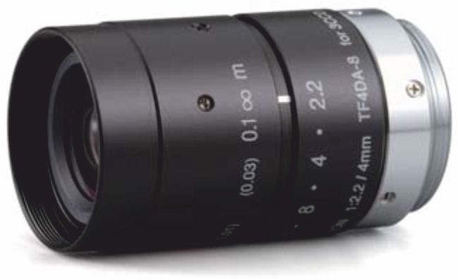 "Fujinon TF4DA-8 1/3"" Fixed Focal lens 3 CCD Lens"