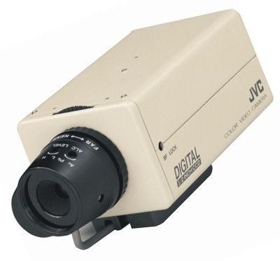 """JVC TKC1310E 1/2"""" Colour Camera 12/24V"""