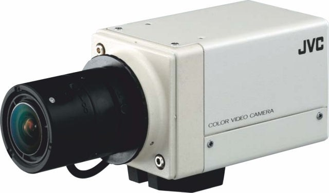 "JVC TKWD310 1/3"" Wide Dynamic Colour Camera 12/24V"