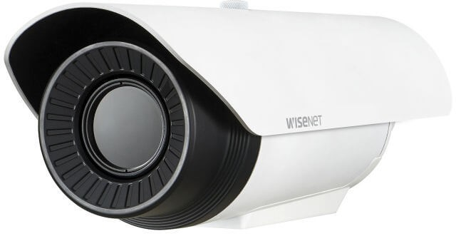 Samsung / Hanwha TNO4041T VGA H.265 Network Thermal Camera