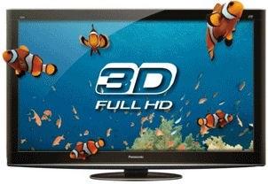 """Panasonic TXP50VT20B 50"""" 3D Plasma TV"""