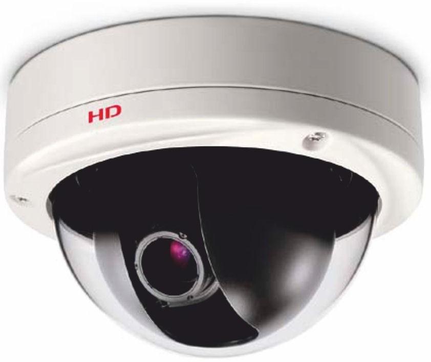 Sanyo VDCHD3100P Full HD Dual-Stream Colour Vandal-Resistant Dome