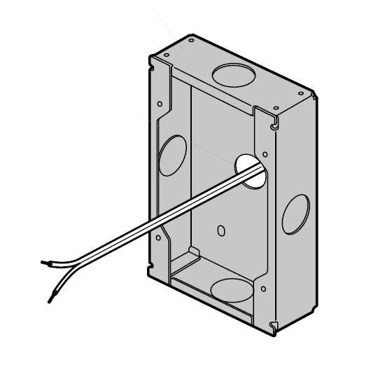 Panasonic VLMB554EX Flush mounting box