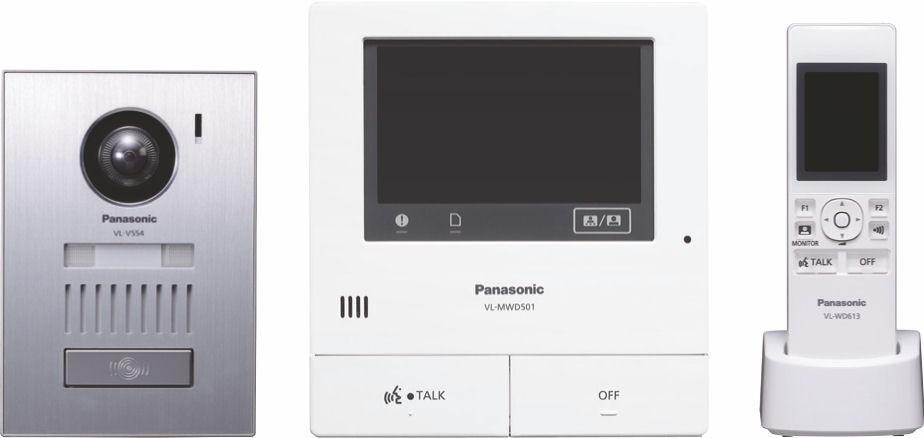 Panasonic VLSWD501UEX Wireless Video Intercom System