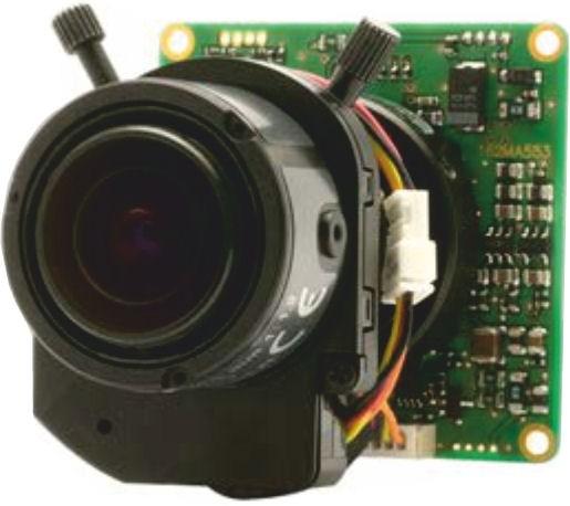 "Watec W04CDB3 1/3"" Multi-function Board Camera with Varifocal Lens"