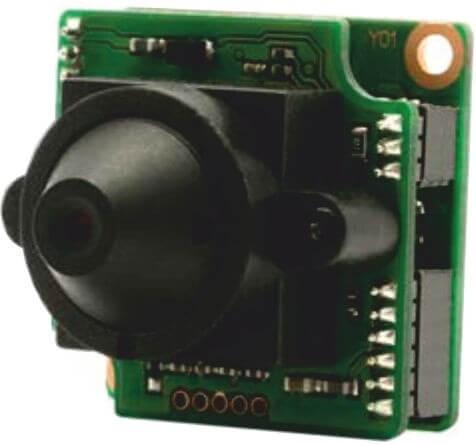 """Watec WAT910HXMBDP33 1/3"""" Super High Sensitivity Miniature Board Camera"""