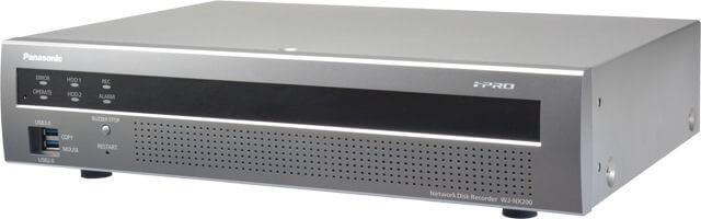 Panasonic WJNX200 H.265 Network Disk Recorder