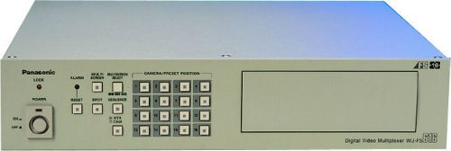 Panasonic WJFS616 Colour Triplex Multiplexer