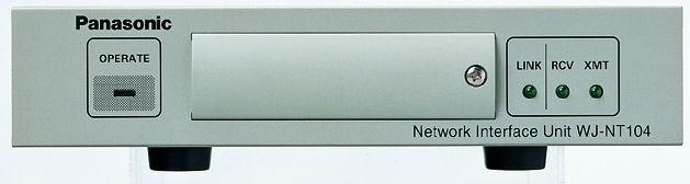 Panasonic WJNT104 Video Encoder Ex Demo