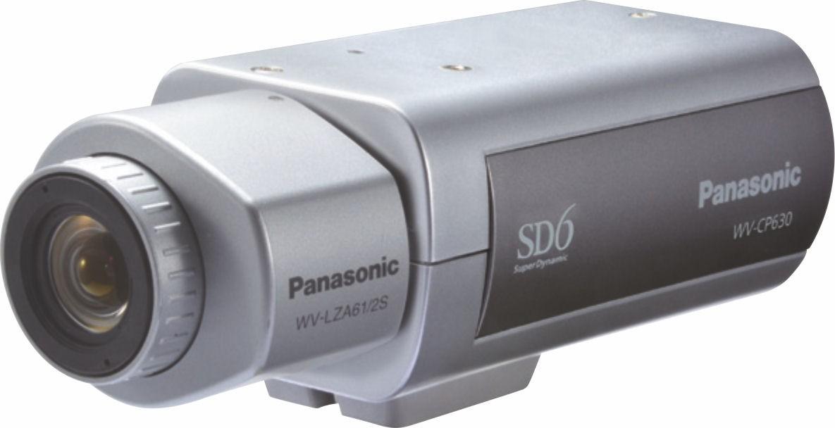 Panasonic WVCP630 Super Dynamic 6 Day/Night Camera