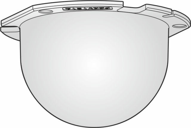 Panasonic WVCR1S Smoke Dome Cover
