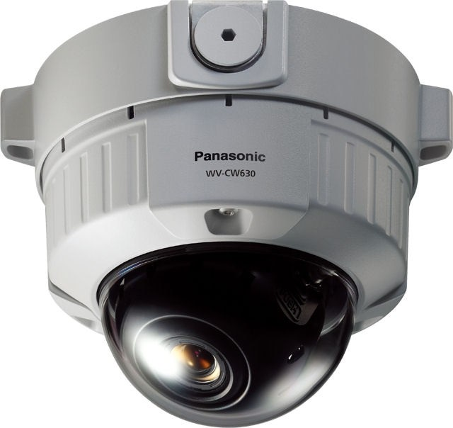 Panasonic WVCW630S Super Dynamic 6 Vandal Resistant Fixed Dome Camera