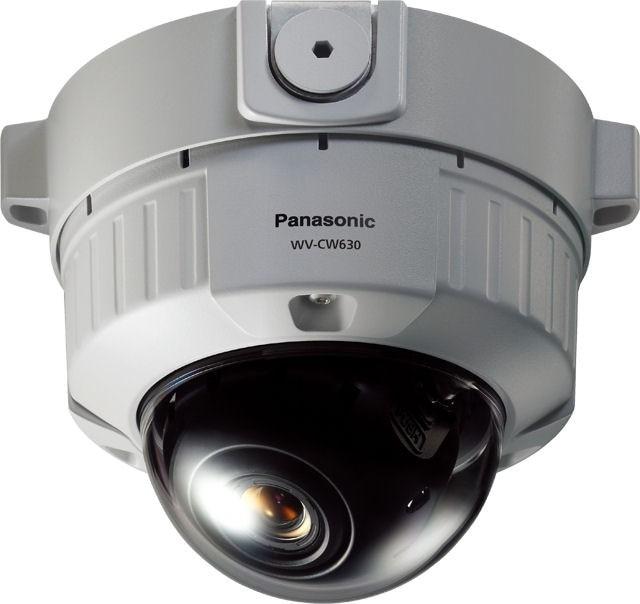 Panasonic WVCW634S Super Dynamic 6 Vandal Resistant Fixed Dome Camera