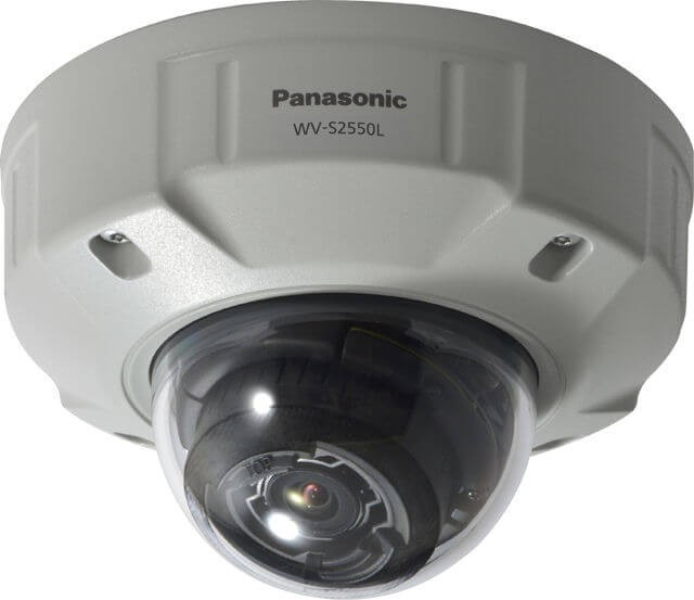 Panasonic WVS2550L 5-Megapixel iA H.265 Network Camera