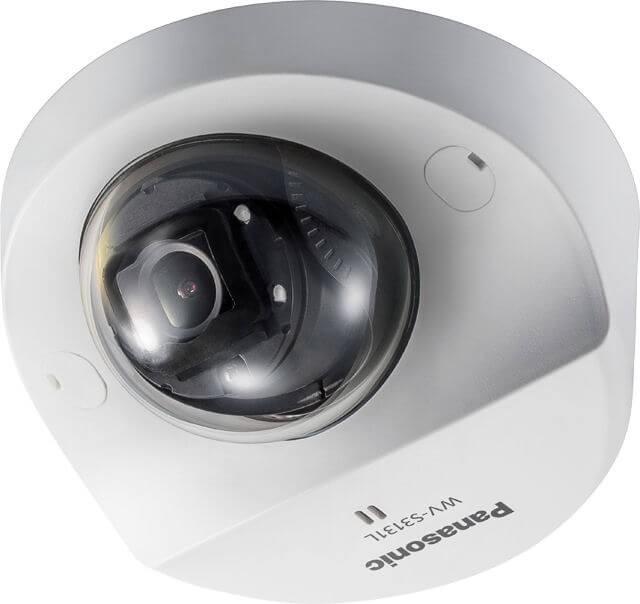 Panasonic WVS3131L iA (intelligent Auto) H.265 Compact Network Dome Camera