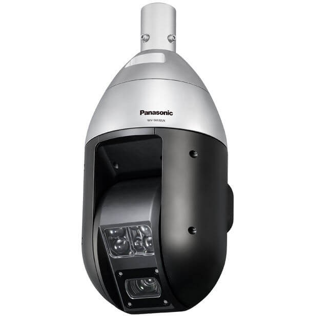 Panasonic WVS6532LN Long distance IR illumination iA PTZ Dome Camera
