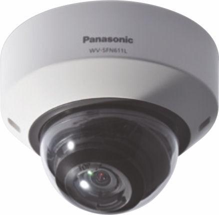 Panasonic WVSFN611L Super Dynamic HD Dome Network Camera
