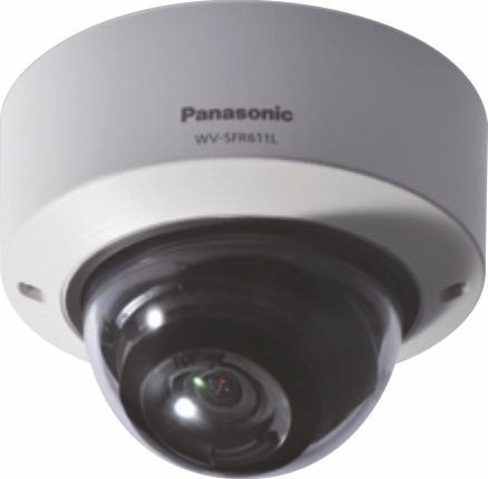 Panasonic WVSFR611L Super Dynamic HD Vandal Resistant Dome Network Camera