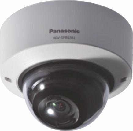 Panasonic WVSFR631L Super Dynamic Full HD Vandal Resistant Dome Network Camera