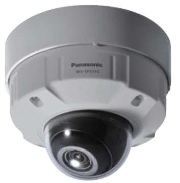 Panasonic WVSFV310A Super Dynamic HD Vandal Resistant & Waterproof Dome IP Camera
