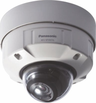 Panasonic WVSFV611L  HD Vandal Resistant & Waterproof Dome IP Camera