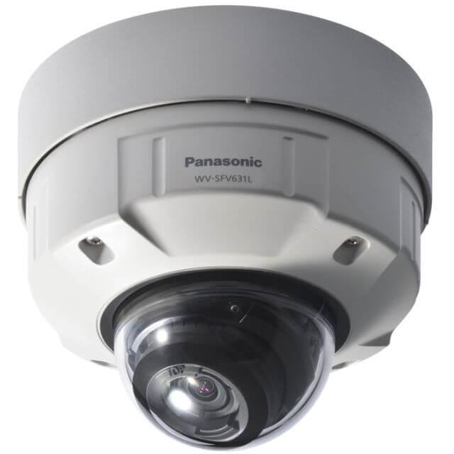Panasonic WVSFV631L Full HD Vandal Resistant & Waterproof Dome IP Camera