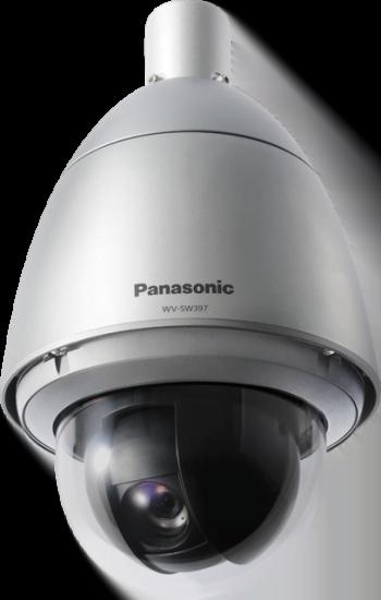 Panasonic WVSW397 HD PTZ Dome Network Camera