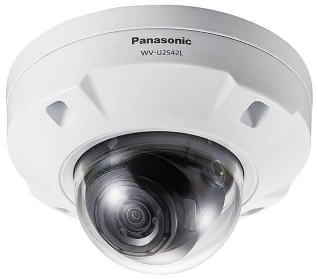Panasonic WVU2542L 4MP Varifocal Lens Outdoor Dome Network Camera