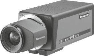 "Panasonic WVCL830 1/2"" High Resolution Colour Camera"