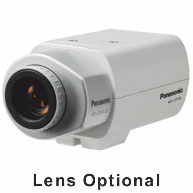 Panasonic WVCP300G Day/Night Fixed Camera