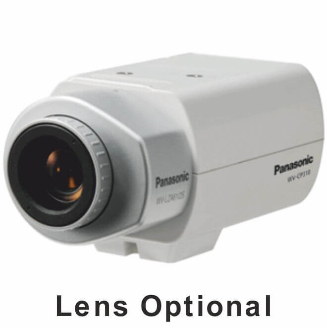 Panasonic WVCP310G True Day/Night Camera