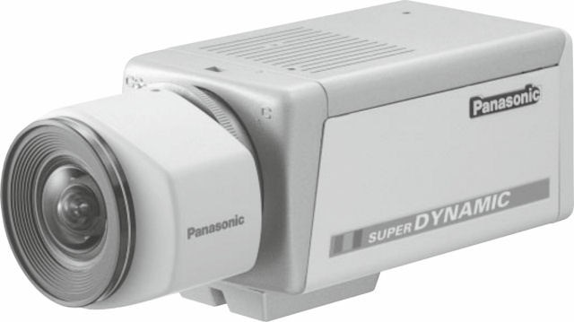"Panasonic WVCP454 1/3"" Colour Camera 12/24V ex demo"