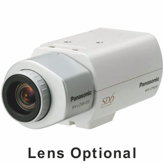 Panasonic WVCP600 Day/Night Fixed Camera