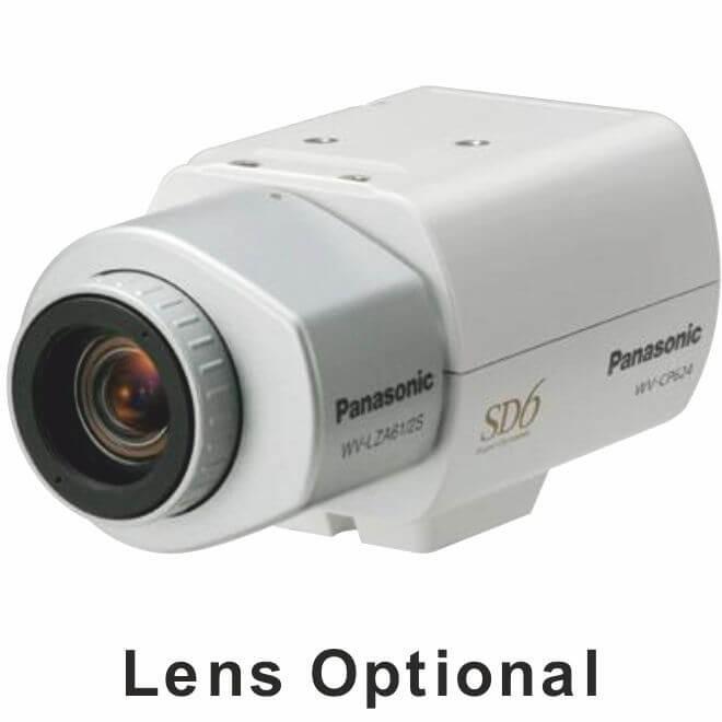 Panasonic WVCP620 Day/Night Fixed Camera