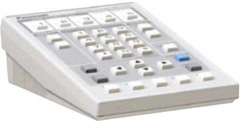 Panasonic WVCU20E Desktop controller for WJ-AV20