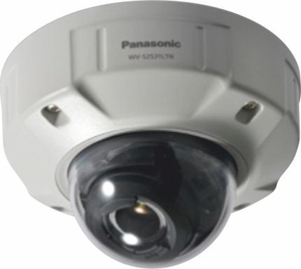 Panasonic WVS2531LTN Full HD Vandal Resistant & Waterproof Dome Network Camera