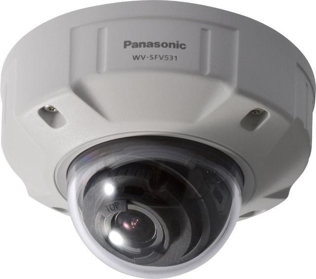 Panasonic WVSFV531 Full HD Vandal Resistant & Waterproof Dome IP Camera