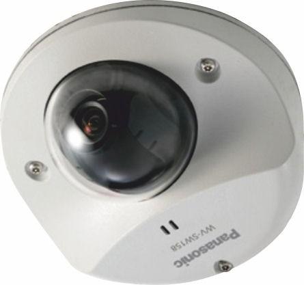 Panasonic WVSW158 Super Dynamic Full HD Vandal Resistant Dome Network Camera