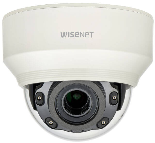Samsung / Hanwha XNDL6080R 2 Megapixel Vandal-Resistant Network IR Dome Camera