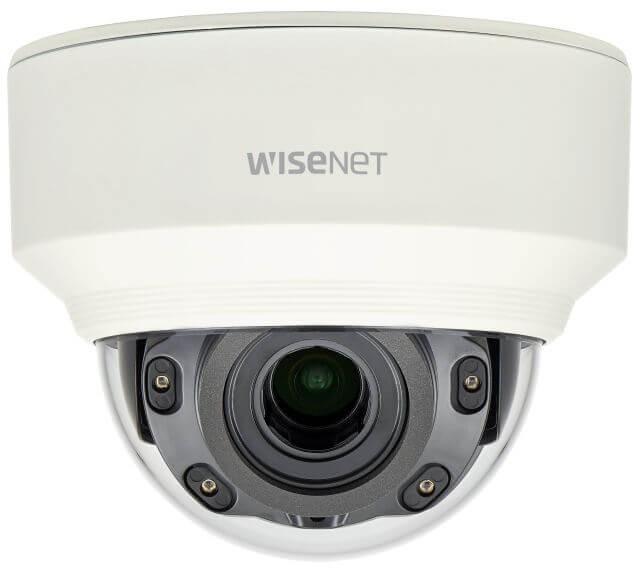 Samsung / Hanwha XNDL6080RV 2 Megapixel Vandal-Resistant Network IR Dome Camera