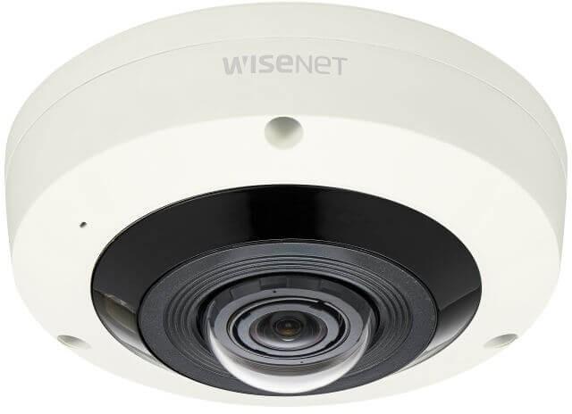 Samsung / Hanwha XNF8010RVM 6MP Sensor Fisheye Camera