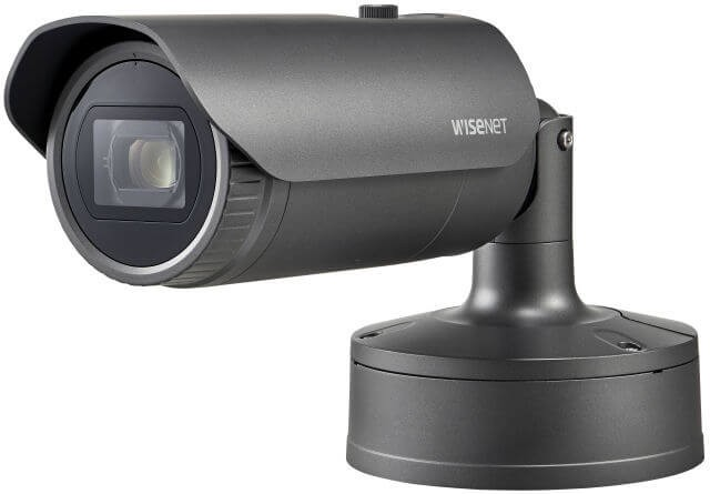 Samsung / Hanwha XNO6120RFNP 2M IP Camera with Roadway Licence Plate Recognition