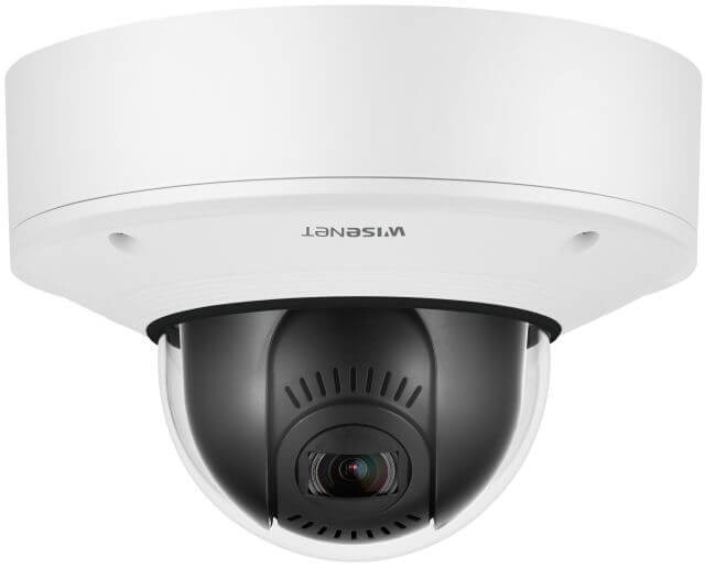 Samsung / Hanwha XNV6081Z 2 Megapixel H.265 Vandal-Resistant Network Dome Camera