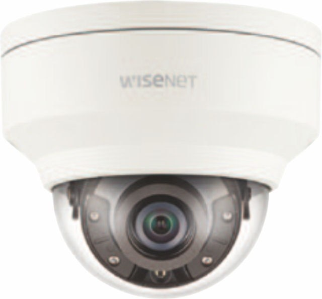 Samsung / Hanwha XNV8030R 5M Vandal-Resistant Network IR Dome Camera